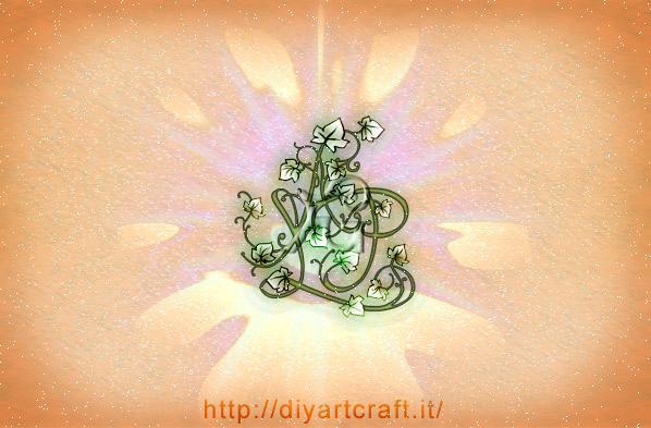 11 Fregi maiuscole stilizzate stemma misterioso