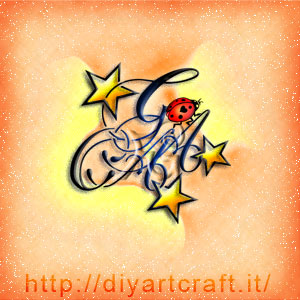 Stemma ACAG lettere intrecciate coccinella e stelle
