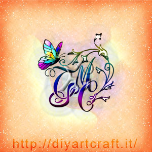 12 Idee Stemma Astratto 4 Lettere Intrecciate Tattoo Diyartcraft