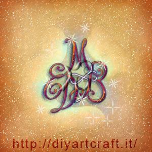 Simbolo infinito su trittico DMB logo di famiglia
