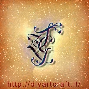 Logo artistico ZGT lettere intrecciate in trittico