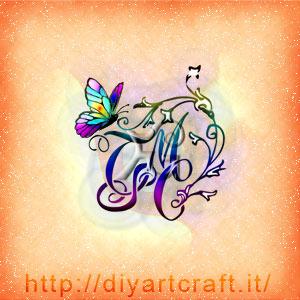 CTMS stemma astratto con fiori e farfalla a colori.